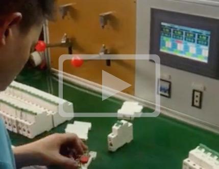 广珠电气断路器测试过程视频
